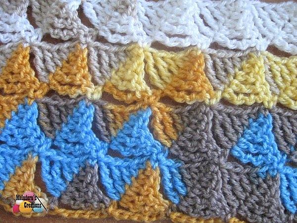 Wedge Stitch Crochet Stitch Free Pattern Links Crochetville