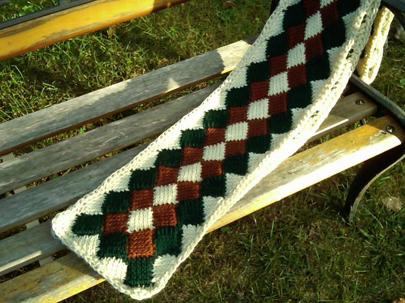 Tunisian Crochet Entrelac Scarf Accessories Crochetville