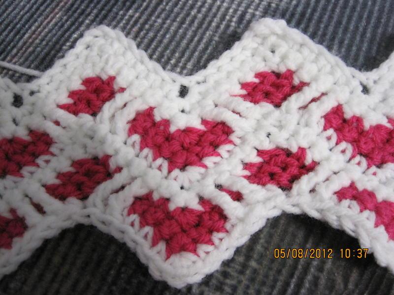 Sweetheart Ripple Afghan General Crochet Help Crochetville