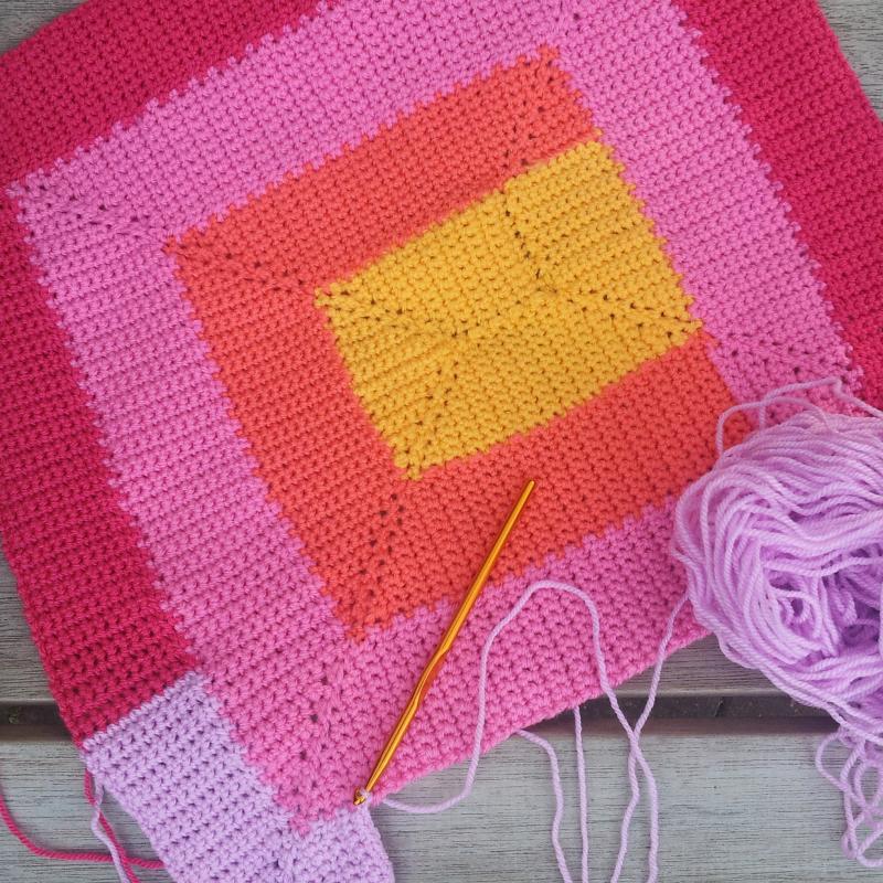 Ten Stitch Blanket Crochet Pattern Free Pattern Links Crochetville