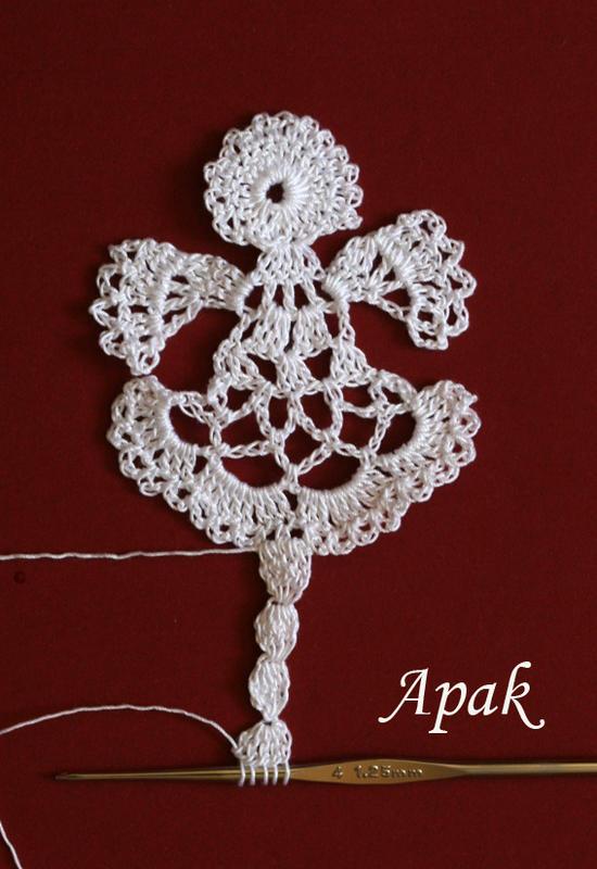 Angel Bookmark 1 Free Original Patterns Crochetville