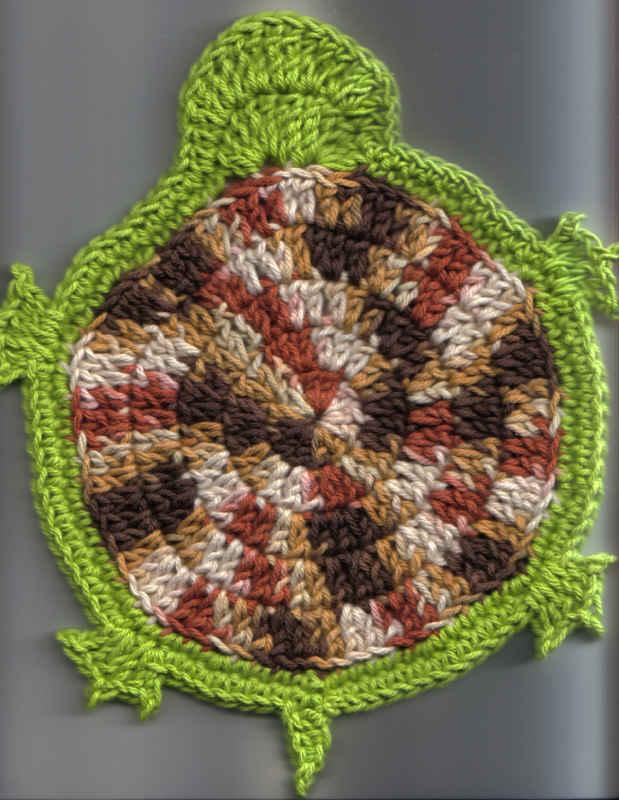 Turtle Dishcloth Free Original Patterns Crochetville