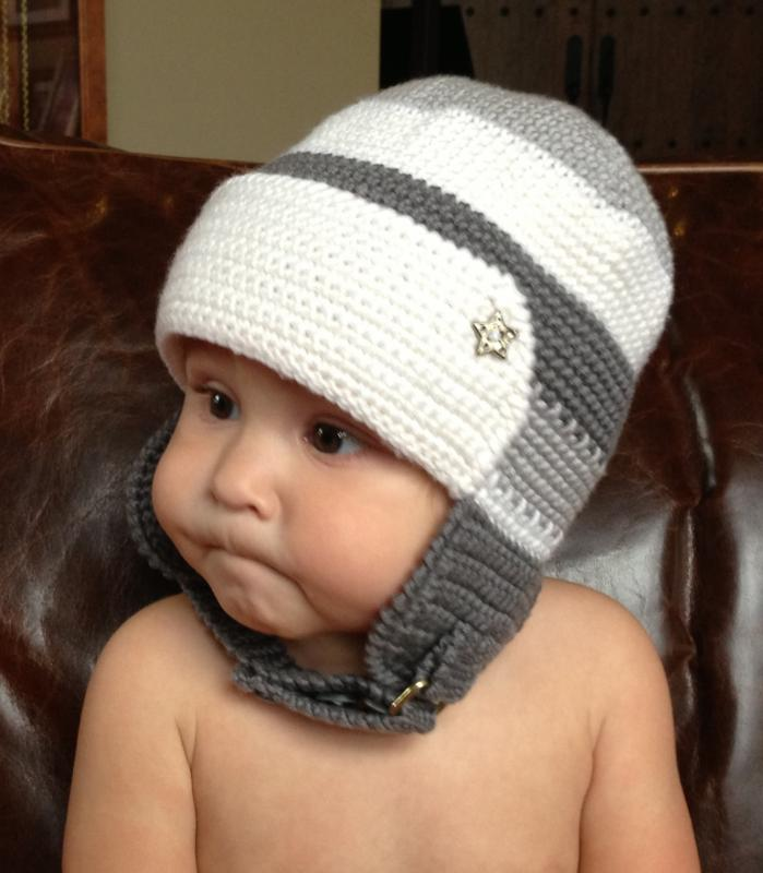Trendy baby boy hat for winter! - Baby   Toddler Items - Crochetville 9d6bb6d9ca04