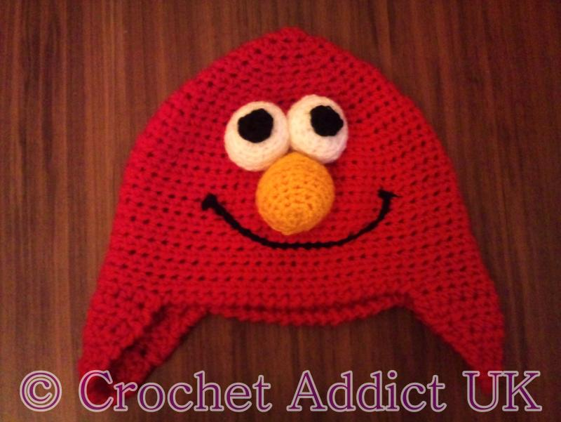 Elmo Earflap Hat 3 Yrs Free Crochet Pattern Free Pattern Links