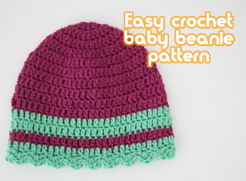 Easy Baby Beanie Crochet Pattern Free Pattern Links Crochetville