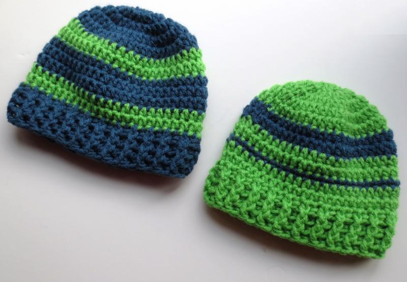 Seattle Seahawks Baby Hats - Baby   Toddler Items - Crochetville 6917779809c