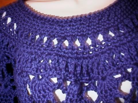Elegant Lace Poncho Free Original Patterns Crochetville