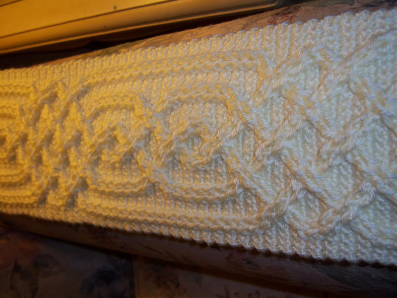 Celtic Cable Scarf Pattern Now Available Accessories Crochetville