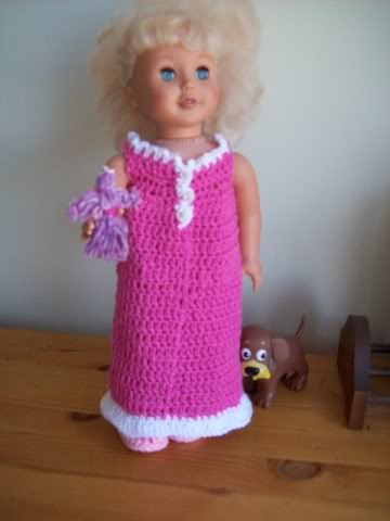 Say Goodnight Gracie Nightgown For 18 Inch Doll Free Original