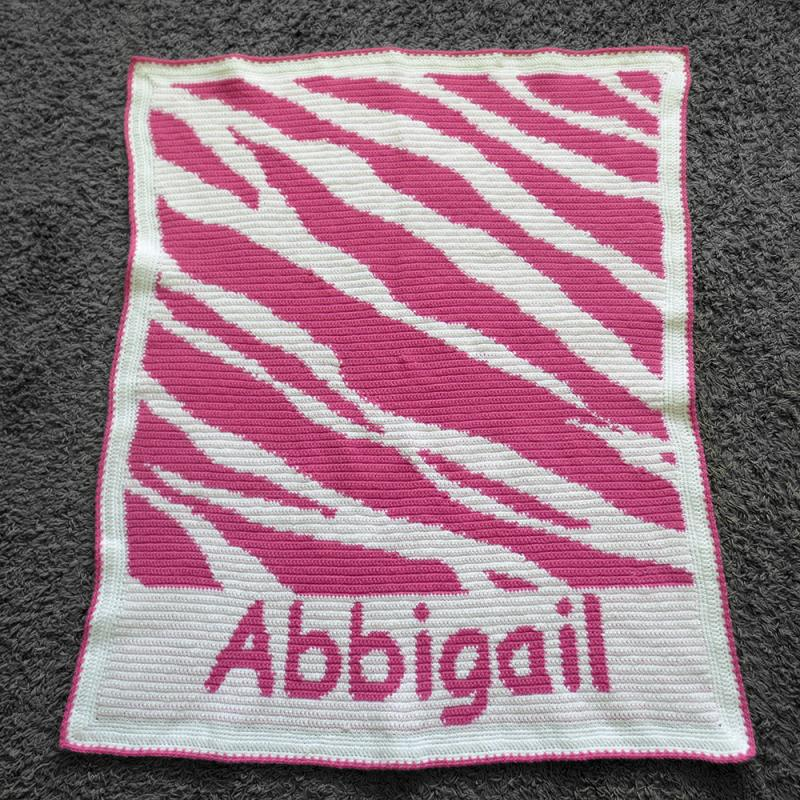 Zebra Crochet Blanket Pattern Chartgraph Patterns For Sale Links