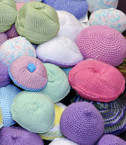 Crocheted and knitted knockers for mastectomy patients crochet post 69059 0 50771800 1383535846thumbg ccuart Images