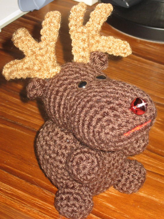 Rudy The Reindeer Free Original Patterns Crochetville