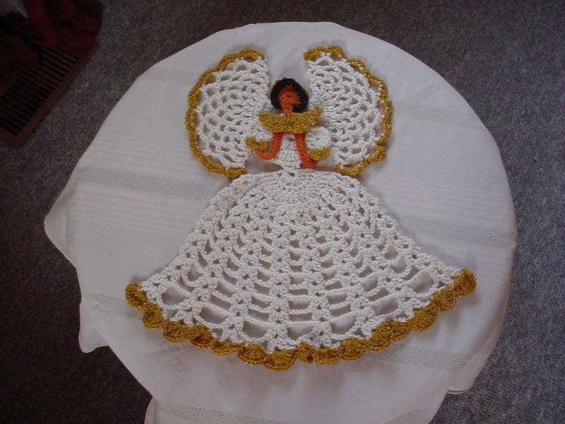 Crinoline Lady Angel Free Original Patterns Crochetville
