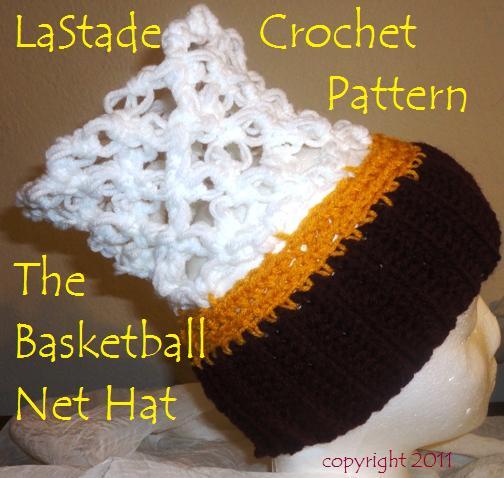 Basketball Hoop Net Hat Crochet Pattern For Bball Fans Patterns