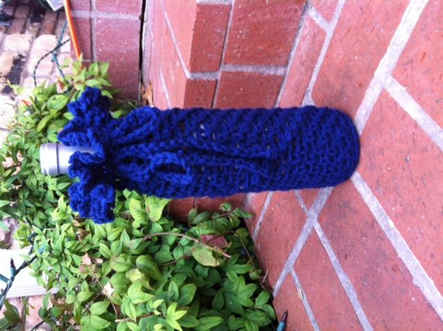 Simply Fast Wine Bottle Cover Free Original Patterns Crochetville