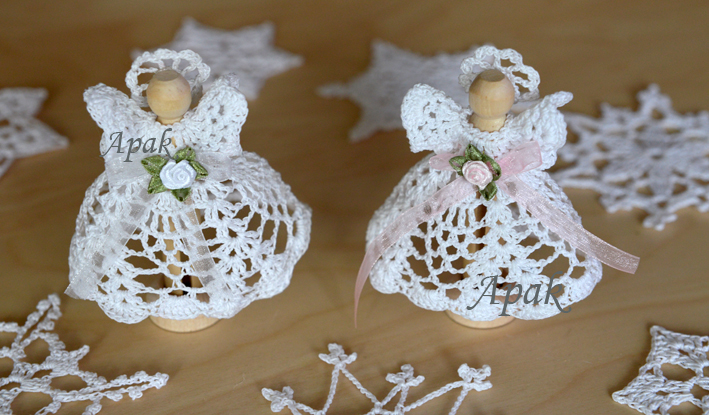 Angels Snowflakes Candle Holders Holiday Seasonal