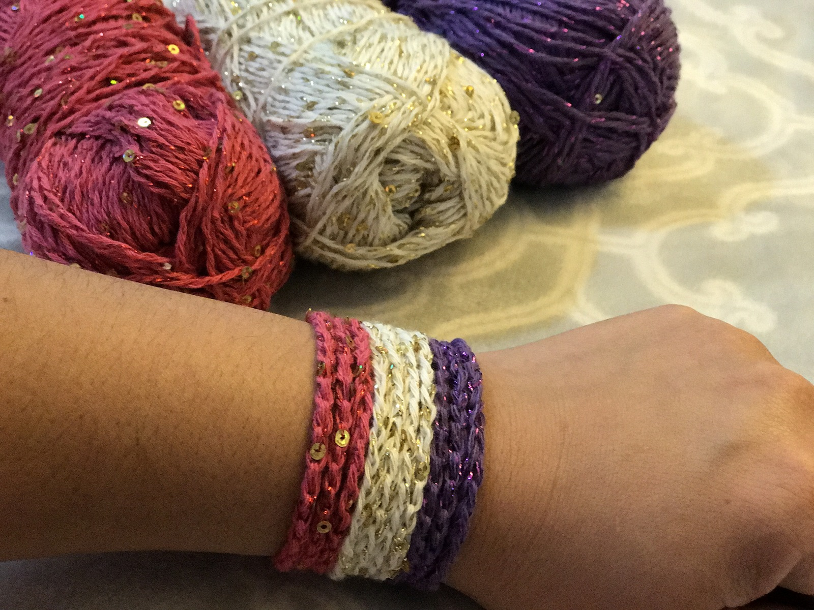 Bracelets by Jennifer from Jennae's DIY Studio