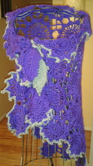 Grape Leaf Shawl