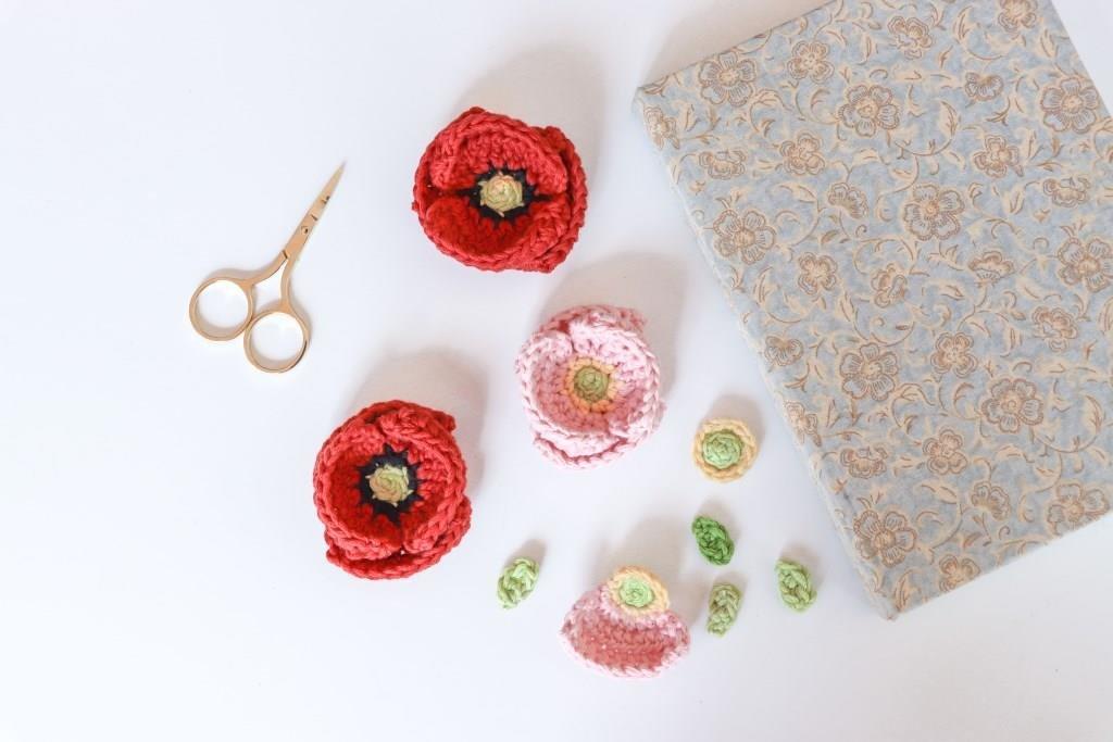 Crochet Poppy Pattern Free Pattern Links Crochetville