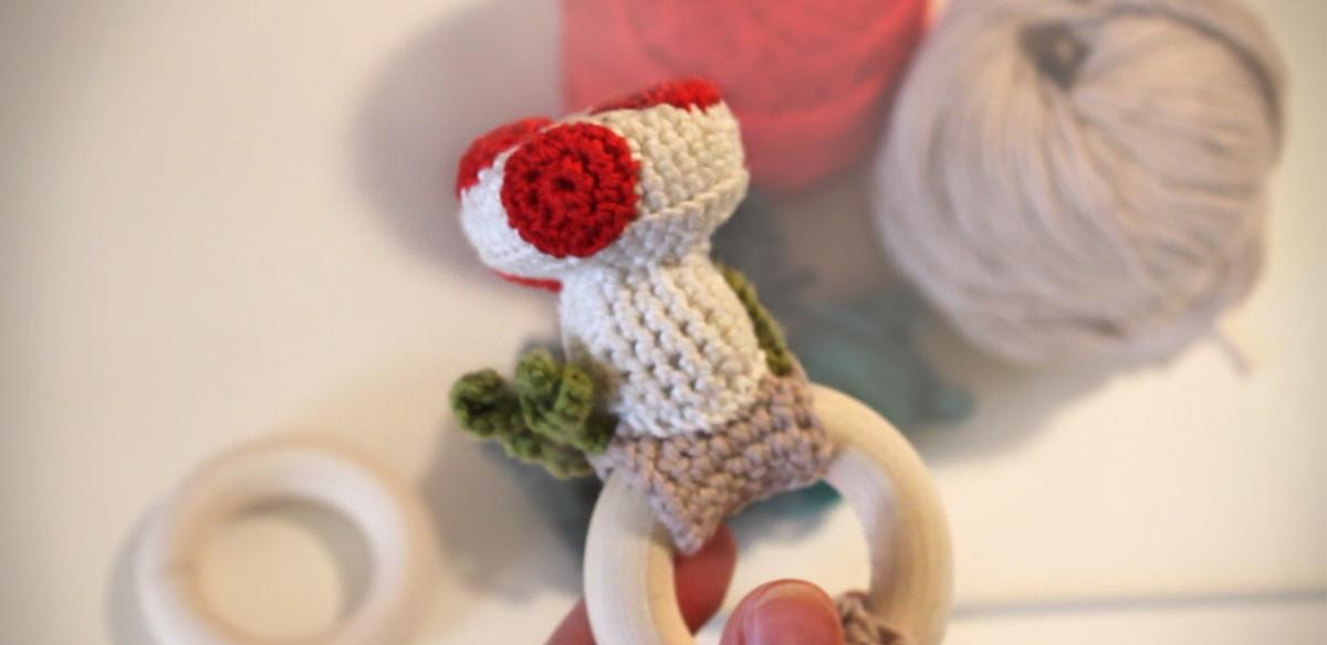 Woodland Baby Rattle Free Original Patterns Crochetville