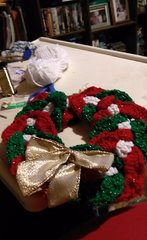 Small Christmas wreath with bow.jpeg