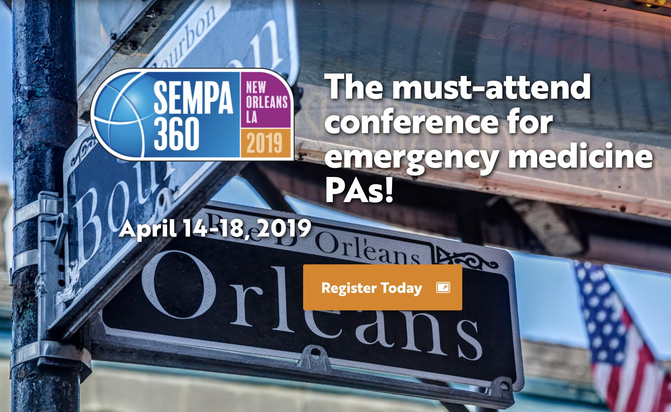 SEMPA 360: 15th Annual Emergency Medicine Conference
