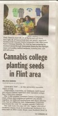 Cannabis Collage Plants Seeds In Flint Area