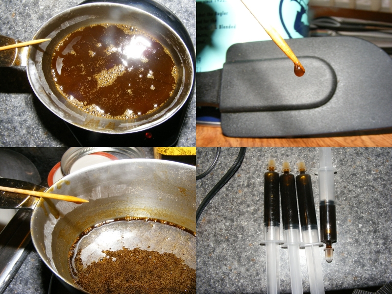 Rso, Qwiso, Qwet, And Naturally Decarbed Sap-Tincture