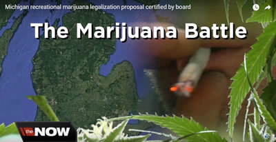 Michigan recreational marijuana legalization proposal certified by board