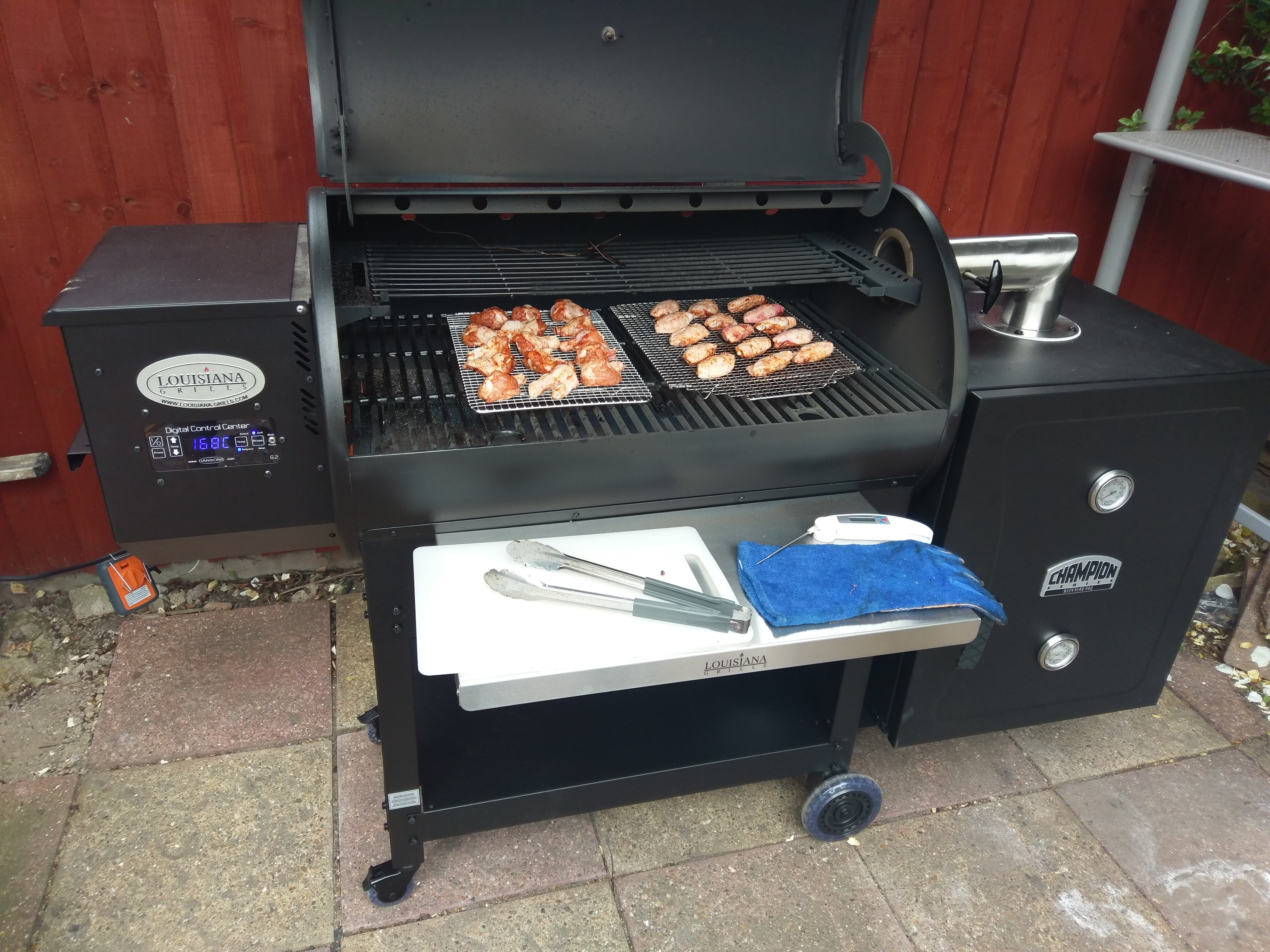 """Costco Smoke Hollow 36"""" grill - General Discussion"""