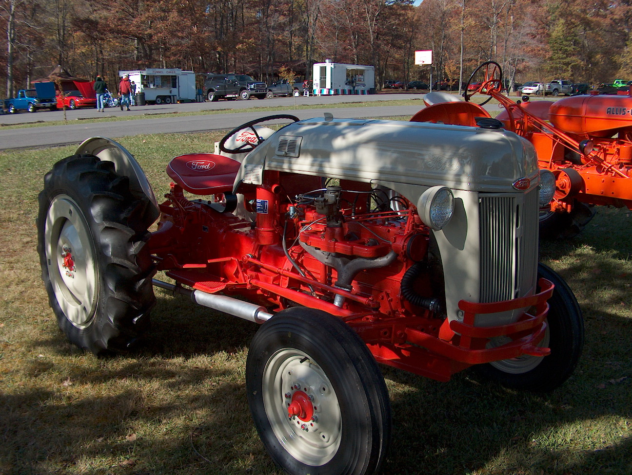 Ford 8n Tractor Funk Conversion 6 Cyl Flat Head Engine Members