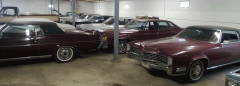 Classic Cadillac Heated Garage