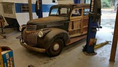 1946 chevy woodie