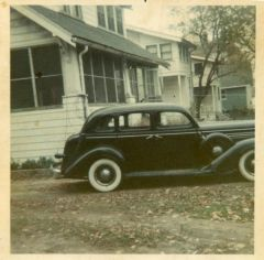 My Old 1936 Dodge Brothers Touring Sedan