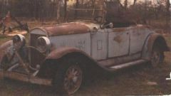 My Old 1929 Chrysler 75 Roadster
