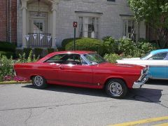 Fairlane at Revvin' with Ford