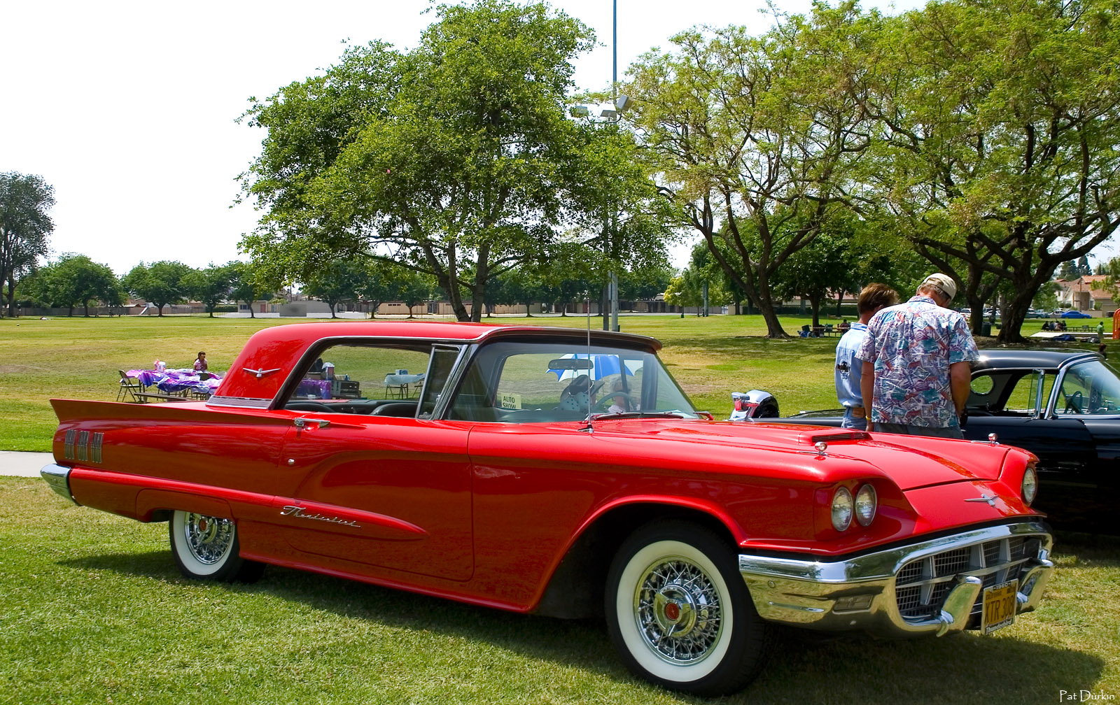 1960 ford thunderbird coupe red fvr