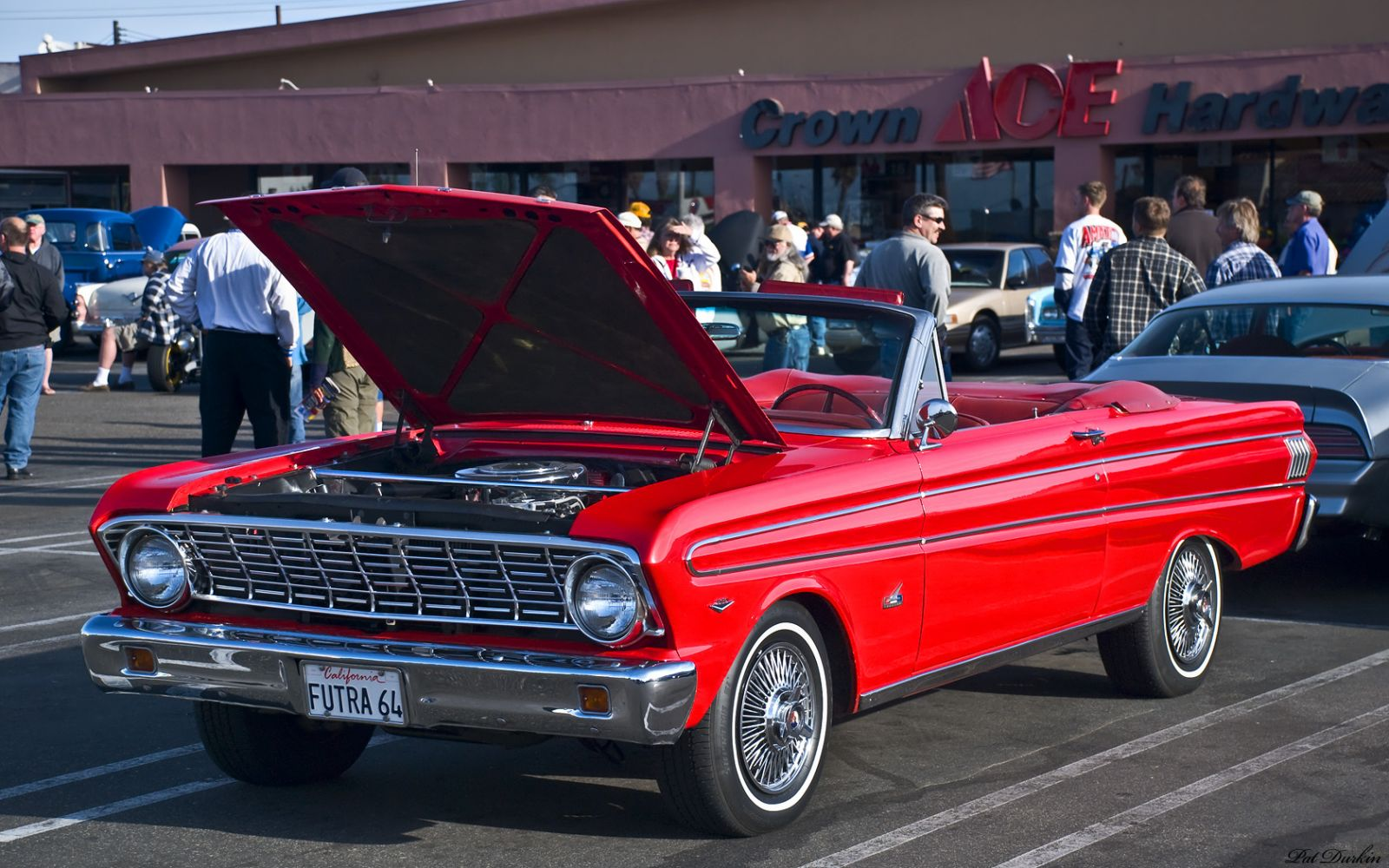 1964 Ford Falcon Futura Convertible Red Fvl Products