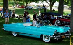 1956 Lincoln Premiere At Meadow Brook 2010