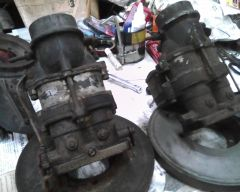 The Carburetor parts I'm working with April 12