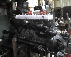 C 10 engine almost ready For insallation May 19, 2013