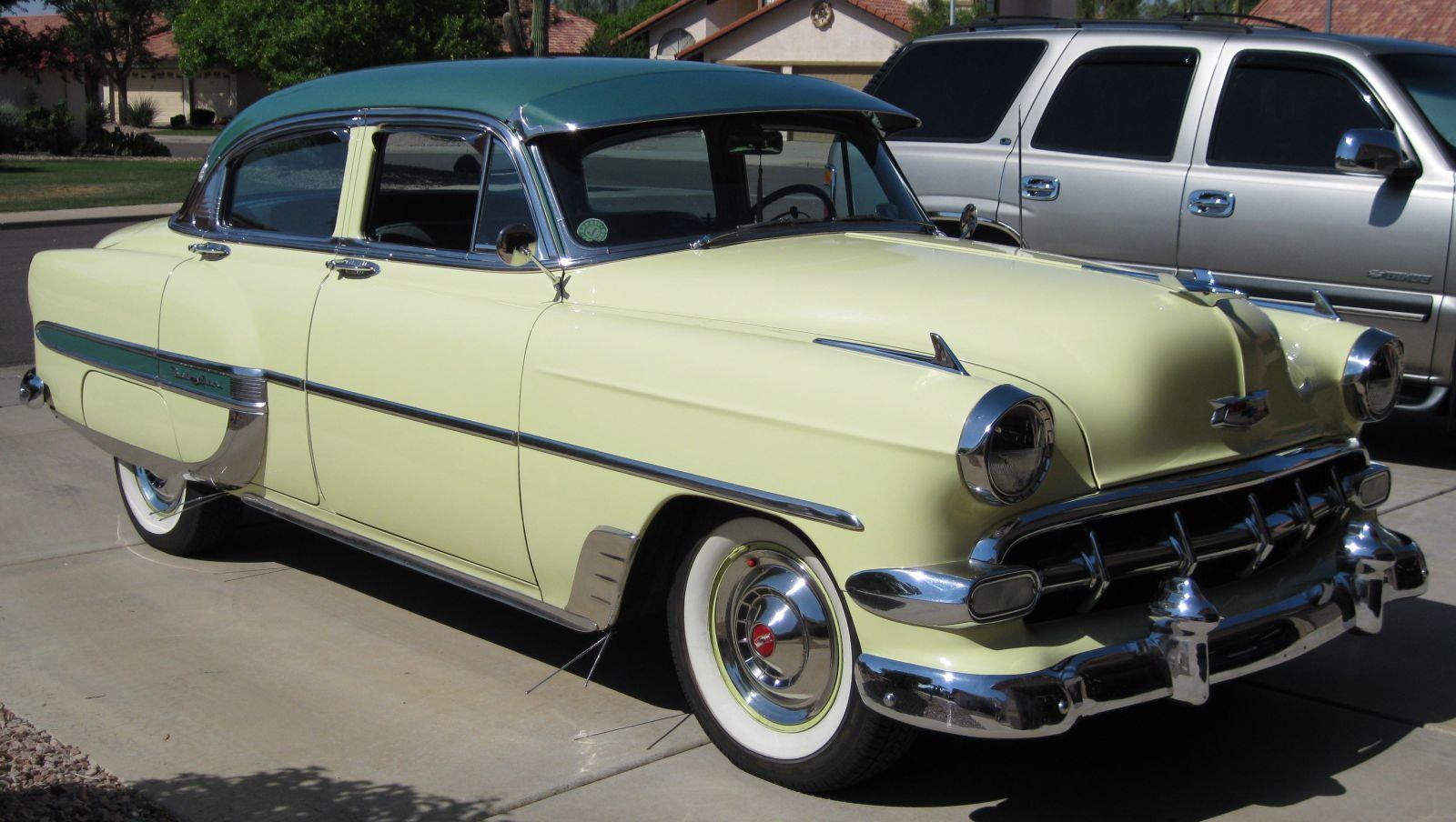 All Chevy 1954 chevrolet belair : 1954 Chevrolet Bel Air 4 door sedan - Members Gallery - Main ...