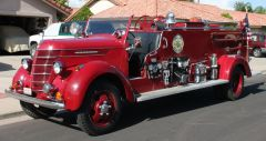 1940 International / Fabco Fire Engine