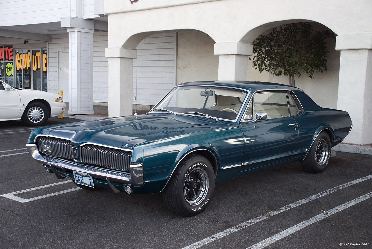 1967 Mercury Cougar Xr7 Fvl Ford Products Antique Automobile