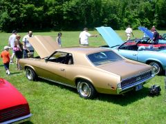 1970 Mercury Cougar at Haddam, CT car show 7/10/2005