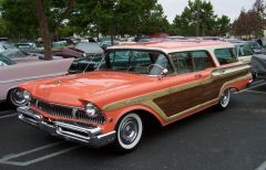 1957 Mercury Colony Park Station Wagon