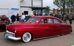 1951 Mercury Coupe - leadsled - candyapple - fvl