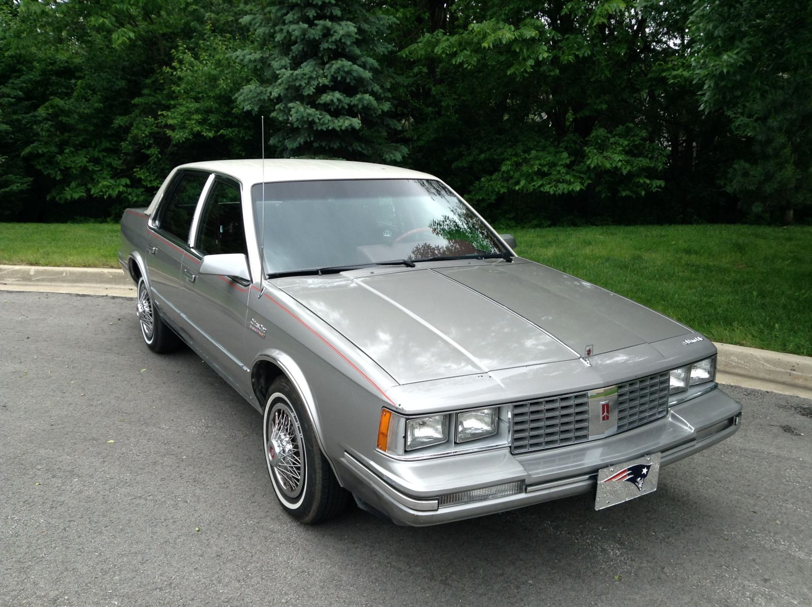 1983 Oldsmobile Cutlass Ciera Brougham Cream Puff