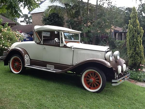 1929 Chrysler Roadster