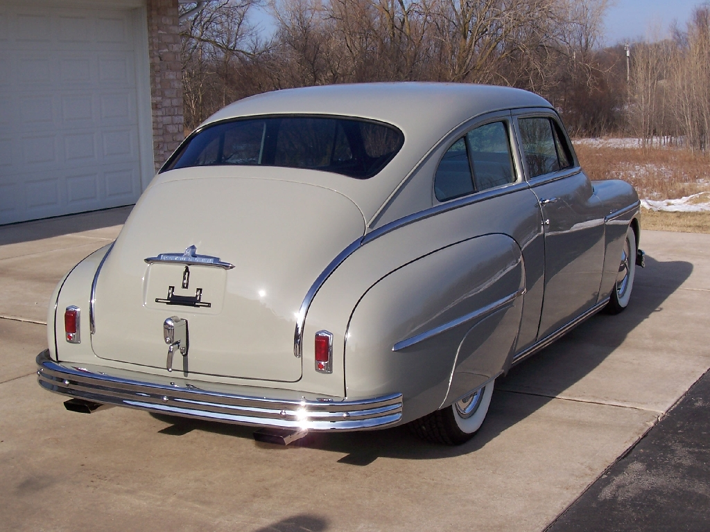 1949 49 Plymouth Deluxe Sedan Chrysler Products